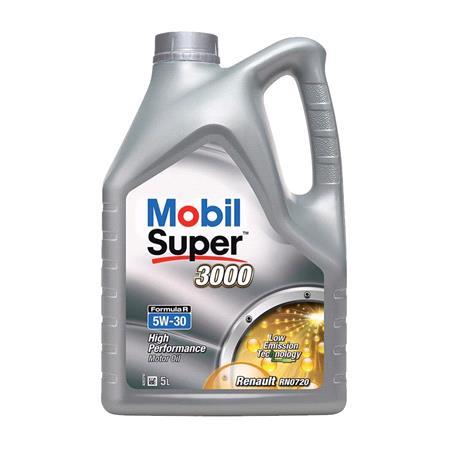 Mobil Super 3000 Formula R 5W 30 Engine Oil   5 Litre