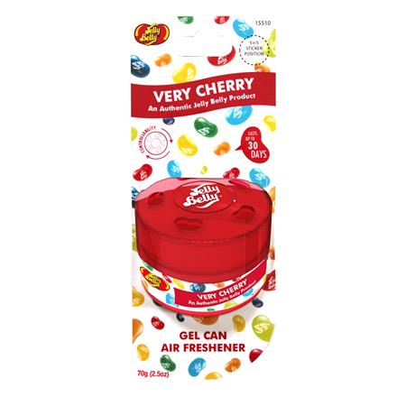 Jelly Belly Very Cherry   Gel Can Air Freshener