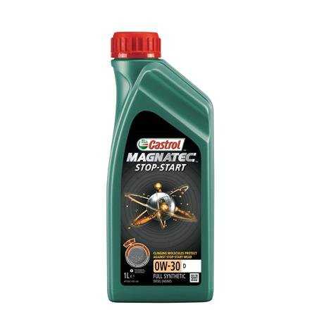 Castrol Magnatec 0W 30 D Stop Start Fully Synthetic Engine Oil   1 Litre