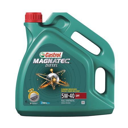 Castrol Magnatec Diesel 5W 40 Engine Oil DPF   4 Litre