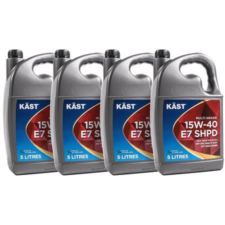KAST 15w40 E7 SHPD Multigrade Engine Oil. 20 Litre