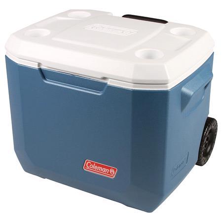 Coleman 50QT Xtreme Wheeled Cooler   Blue