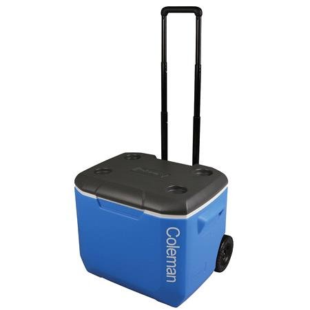 Coleman 60QT Performance Wheeled Cooler   Blue