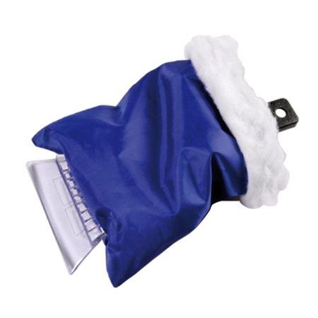 Waterproof ice scraper mitt