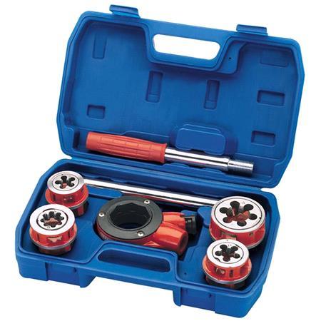 Draper 22496 Metric Ratchet Pipe Threading Kit (7 Piece)