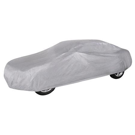 Car Tarpaulin All Weather Light Car Cover (Light Grey)   Extra Large