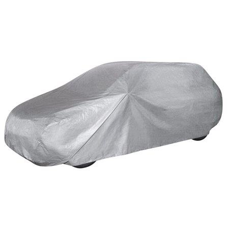 Car Tarpaulin All Weather Light Station Wagon Cover (Light Grey)   Medium