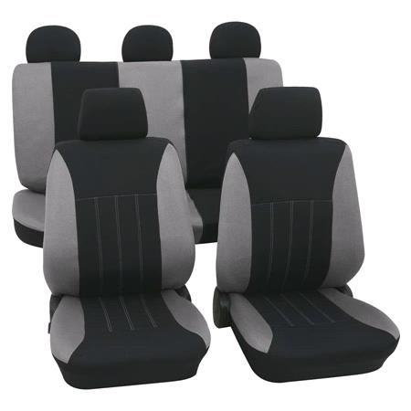 Grey & Black Car Seat Covers   For Mitsubishi Outlander up to 2007