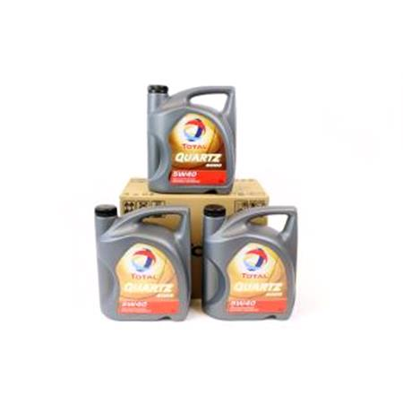 TOTAL Quartz 9000 5w40 Fully Synthetic Engine Oil VALuE PACK 3x5 Litre