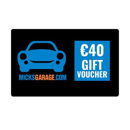 €40 eGift Voucher