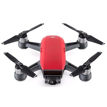 DJI Spark Fly More Combo Mini Drone Lava Red