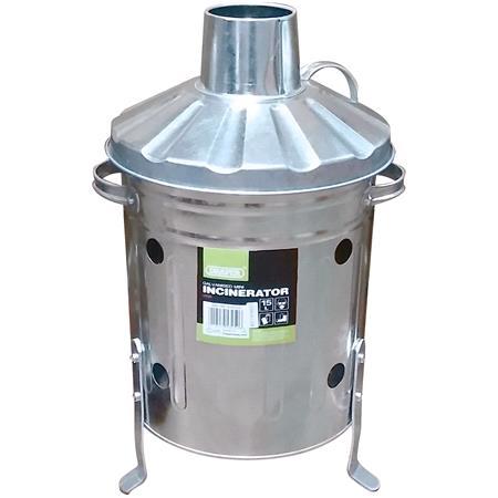 Draper 53250 Galvanised Mini Incinerator (15L)