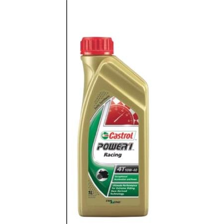 Castrol Power 1 Racing 4T   4 Stroke   10W 40   Fully Synthetic   1 Litre