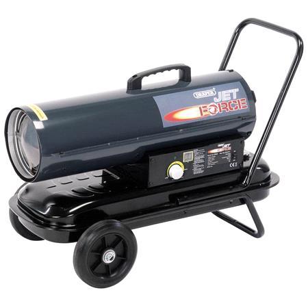 Draper 53926 Jet Force, Diesel, Kerosene and Paraffin Space Heater (75,000 BTu 22kW)