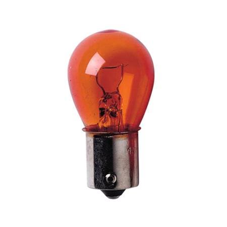 12V Single filament lamp   PY21W   21W   BAu15s   2 pcs    D Blister   Amber