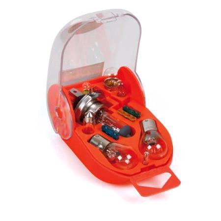 Spare lamps kit 11 pcs, 12V   H4 halogen