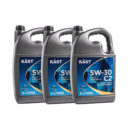 KAST 5w30 Fully Synthetic C2 Engine Oil. 15 Litre