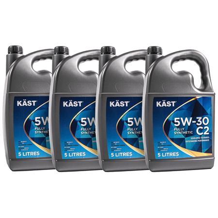 KAST 5w30 Fully Synthetic C2 Engine Oil. 20 Litre