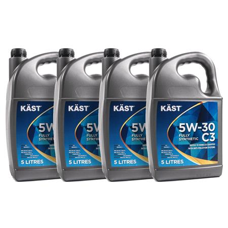 KAST 5w30 Fully Synthetic C3 Engine Oil. 20 Litre