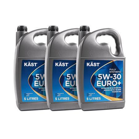KAST 5w30 Euro+ Fully Synthetic Engine Oil. 15 Litre