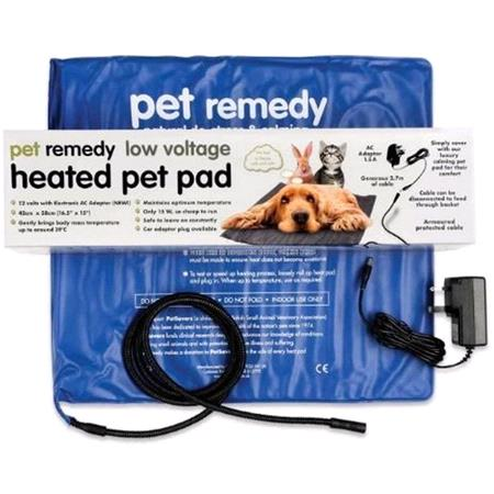 Pet Remedy Heated Pad   Therapeutic Relaxation Pet Pad
