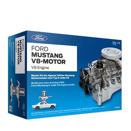 Official Ford Mustang V8 Model Engine Gift Set