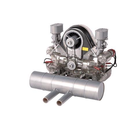 Official Porsche Carrera Model Engine Gift Set