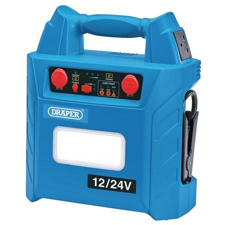 Draper 70554 12V 24V Jump Starter (3000A)