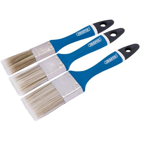 Draper 82495 Paint Brush Set (3 Piece)