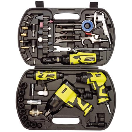 Draper 83431 Storm Force Air Tool Kit (68 Piece)