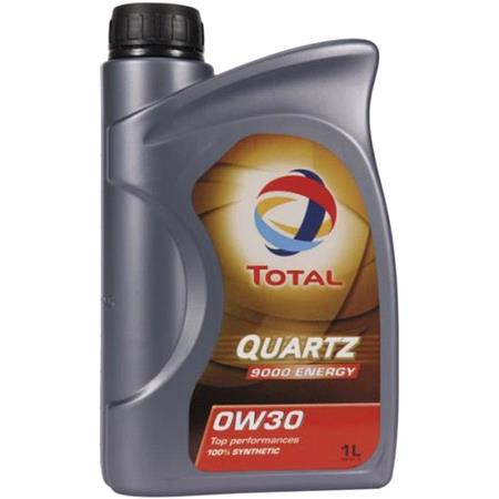 TOTAL Quartz 9000 Energy 0w30 Fully Synthetic Engine Oil. 1 Litre