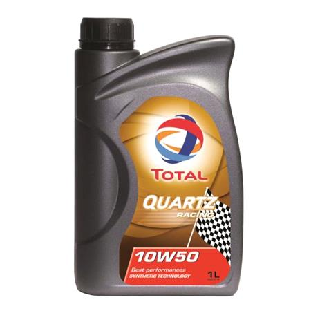 TOTAL Quartz Racing 10w50 Fully Synthetic Engine Oil. 1 Litre