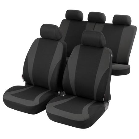 Car Seat Cover   Universal Size (see Type List) Material:Sitting Area 100% PES Jersey, Back PES Stretch Inlet:  mmFoam, TÜV tested for Cars with / without Side Air Bag, CLIXIII, washable, 3 Year Warranty   Mercedes GL CLASS 2012 Onwards