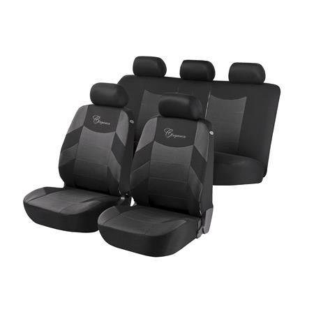 Elegance Car Seat Cover   Grey & Black For Mercedes GL CLASS 2012 Onwards