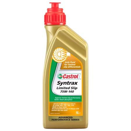 Castrol Syntrax 75w140 Limited Slip Diff Gear Oil. LSD   1 Litre