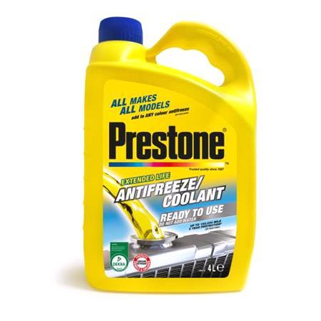 Prestone Antifreeze   Coolant Ready To use   4 Litre