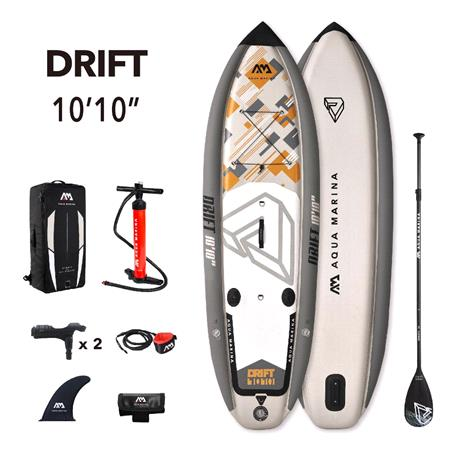 Aqua Marina Drift Fishing 2021 SUP Paddle Board with Fishing Cooler Box