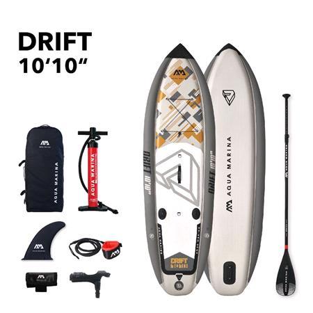Aqua Marina Drift Fishing 2020 SUP Paddle Board with Fishing Cooler Box