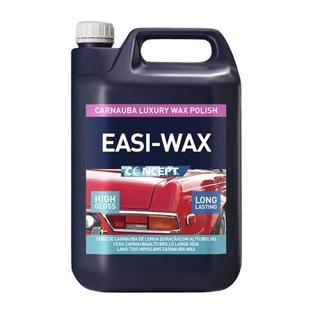 Concept Easi Wax Carnauba Polish   5 Litre