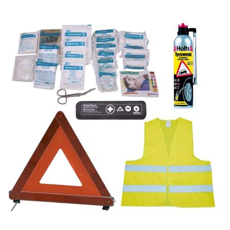 Emergency Breakdown Kit with Puncture Repair