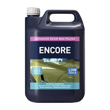 Concept Encore Wax Polish   5 Litre