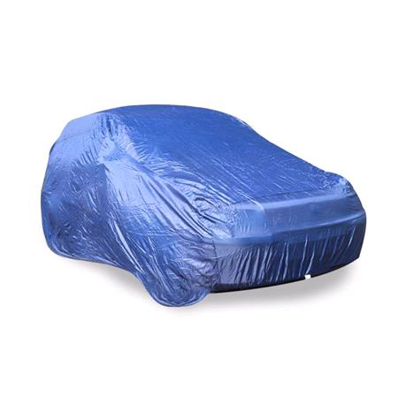Polyester Car Cover (Blue)   Large
