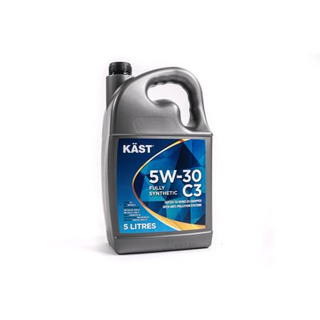 KAST 5w30 Fully Synthetic C3 Engine Oil. 5 Litre