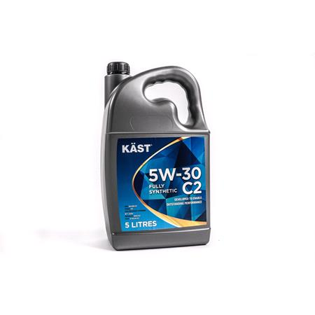 KAST 5w30 Fully Synthetic C2 Engine Oil. 5 Litre