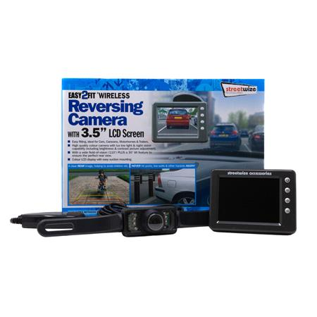 Wireless Reversing Camera Kit with 3.5 inch LCD Colour Display