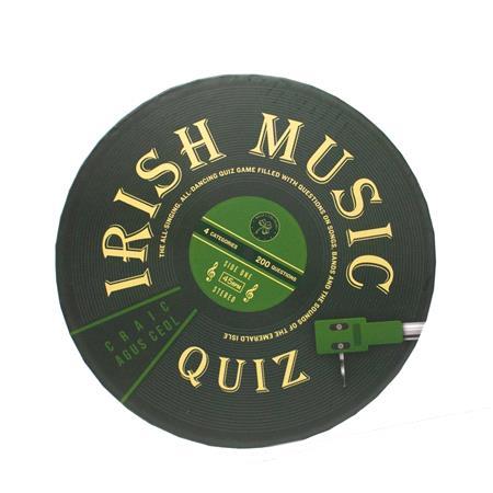 Professor Puzzle Big Irish Music Quiz