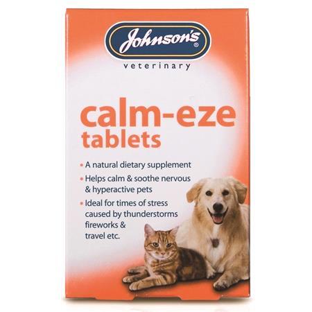 Calm Eze Veterinary Anti Anxiety Travel Tablets (24)