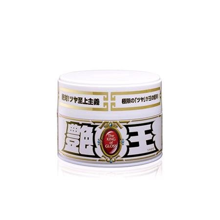 Soft99 The King Of Gloss Solid White Wax   300g