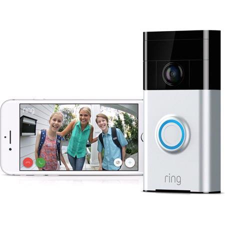 Ring Doorbell   Satin Nickel
