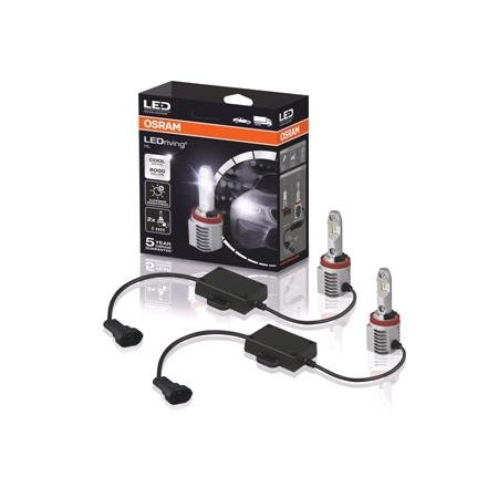 Osram 12/24V 16.9W LED Driving Off Road Cool White H11 Bulbs   Twin Pack